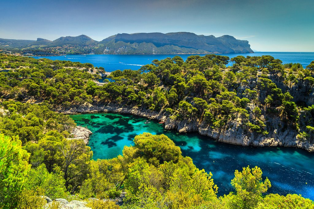 One of many inlets in Calanques National Park