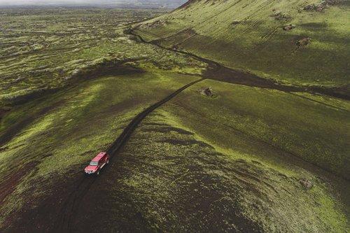 Hekla lava fields