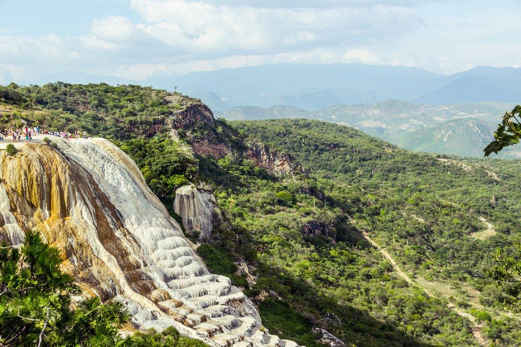 Hierve el Agua in Oaxaca, Mexico