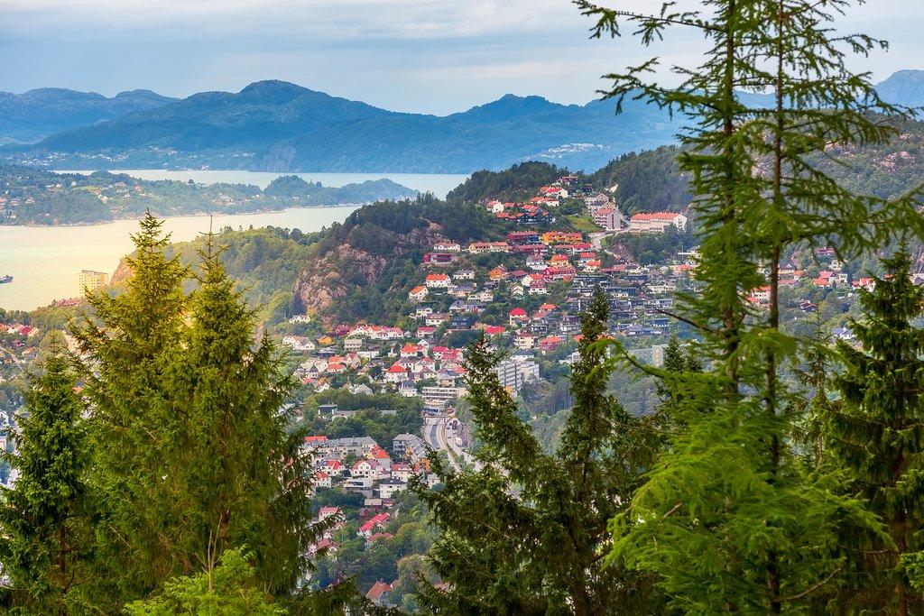 Aerial Views of Bergen