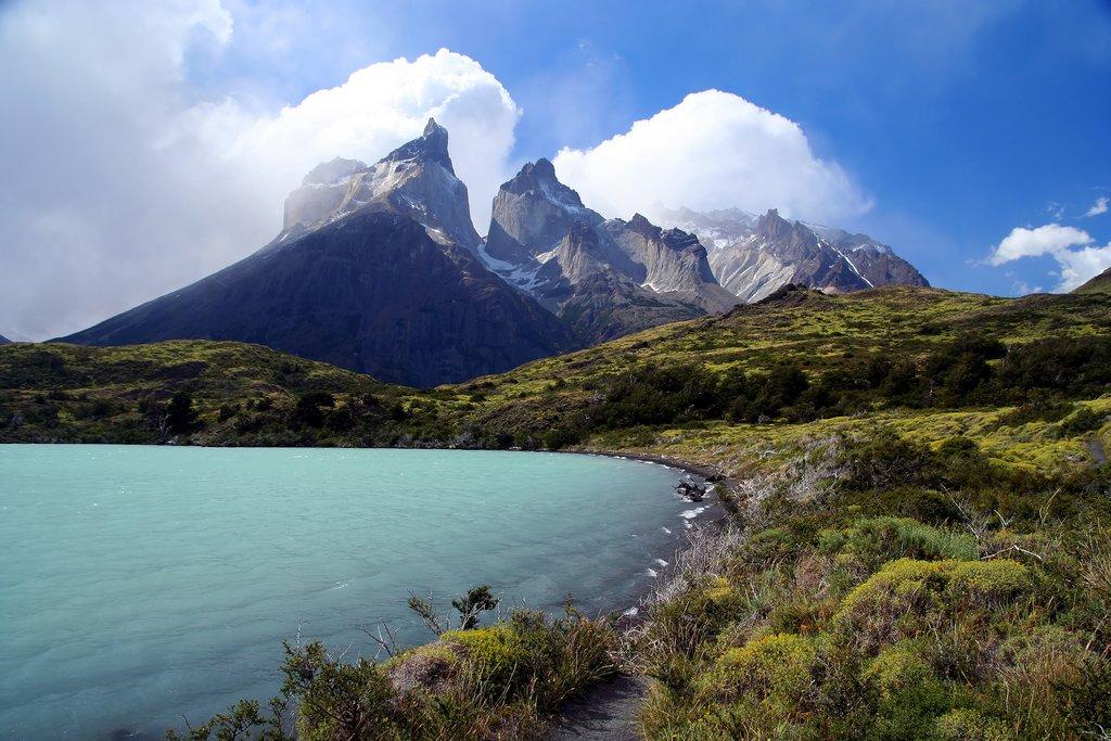 Cuernos del Paine in Torres del Paine National Park