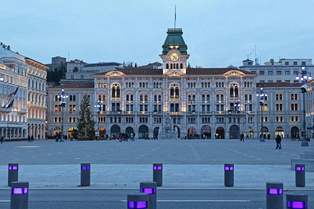 Unity of Italy Square in Trieste