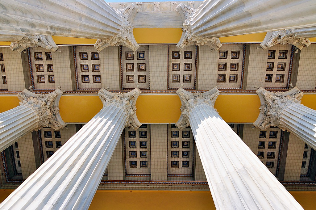 Colors of Classical architecture