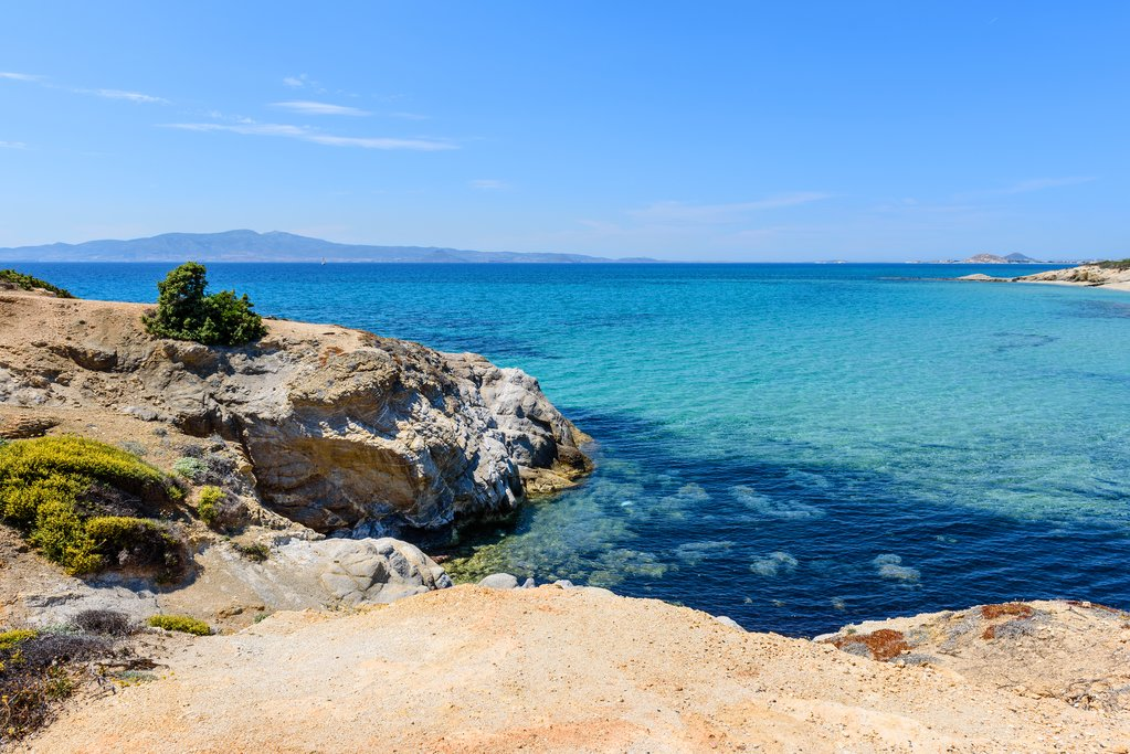 The shores of Naxos