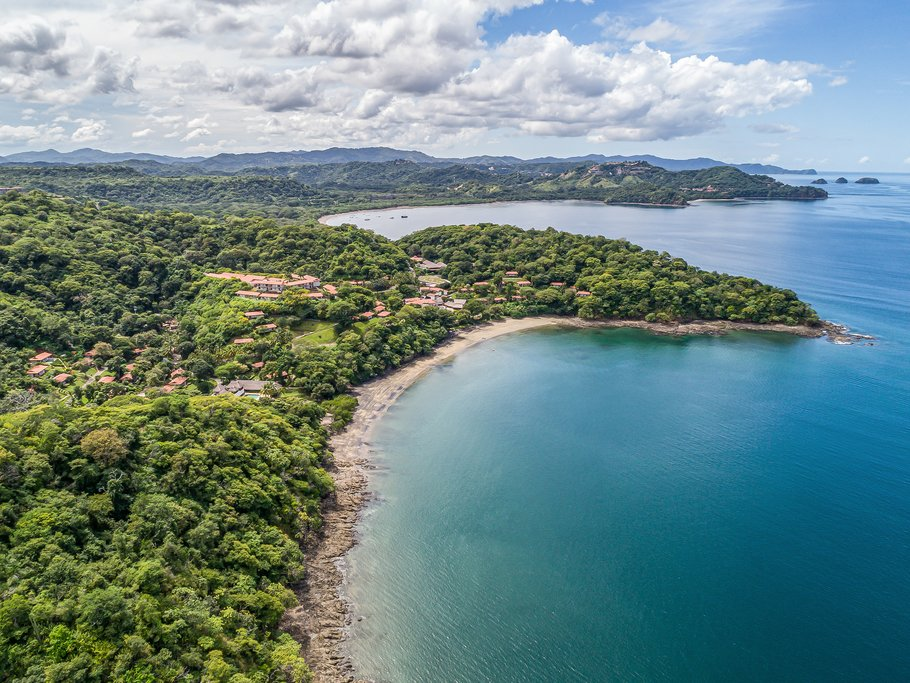 A view over the Gulf of Papagayo