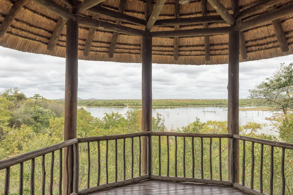 Viewing deck in Kruger