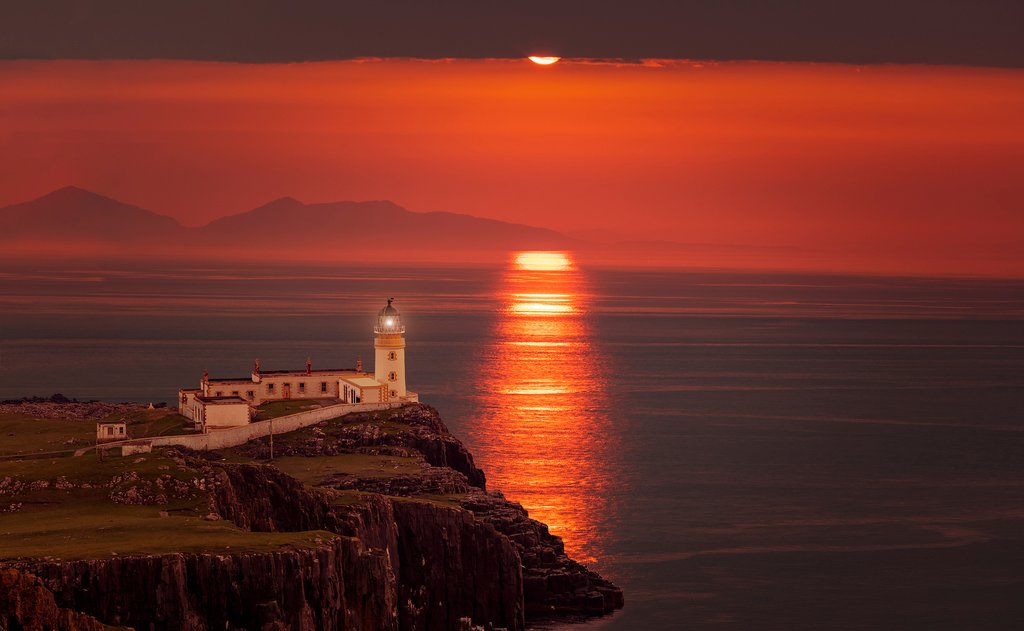 Neist Point at Isle of Skye
