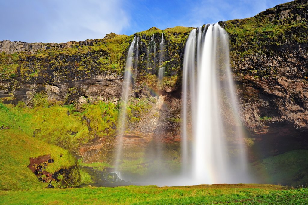 Skogafoss is one of the most popular and easiest waterfalls to visit