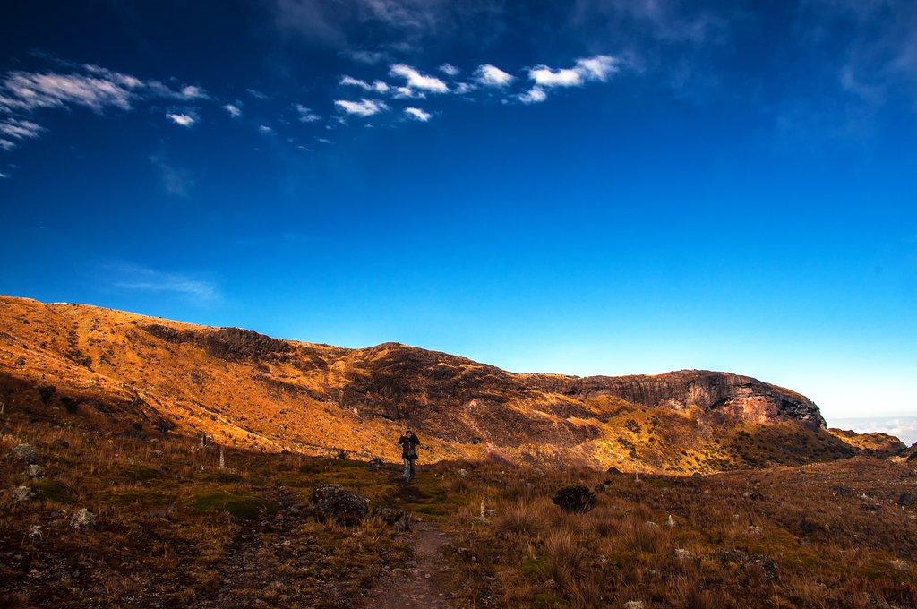 Trekking in Los Nevados National Park
