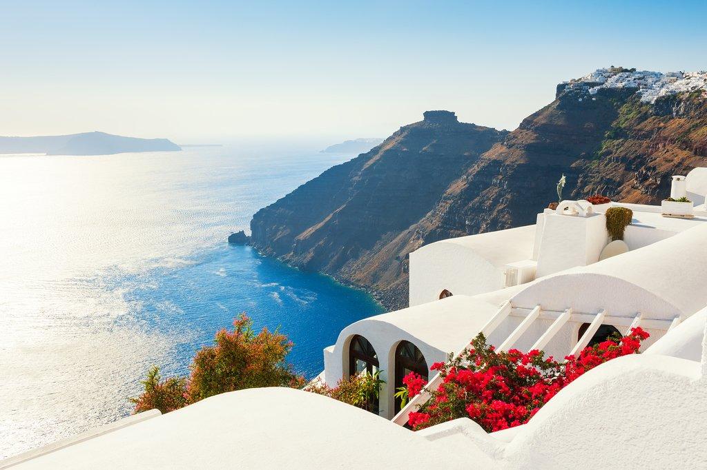Santorini scenery