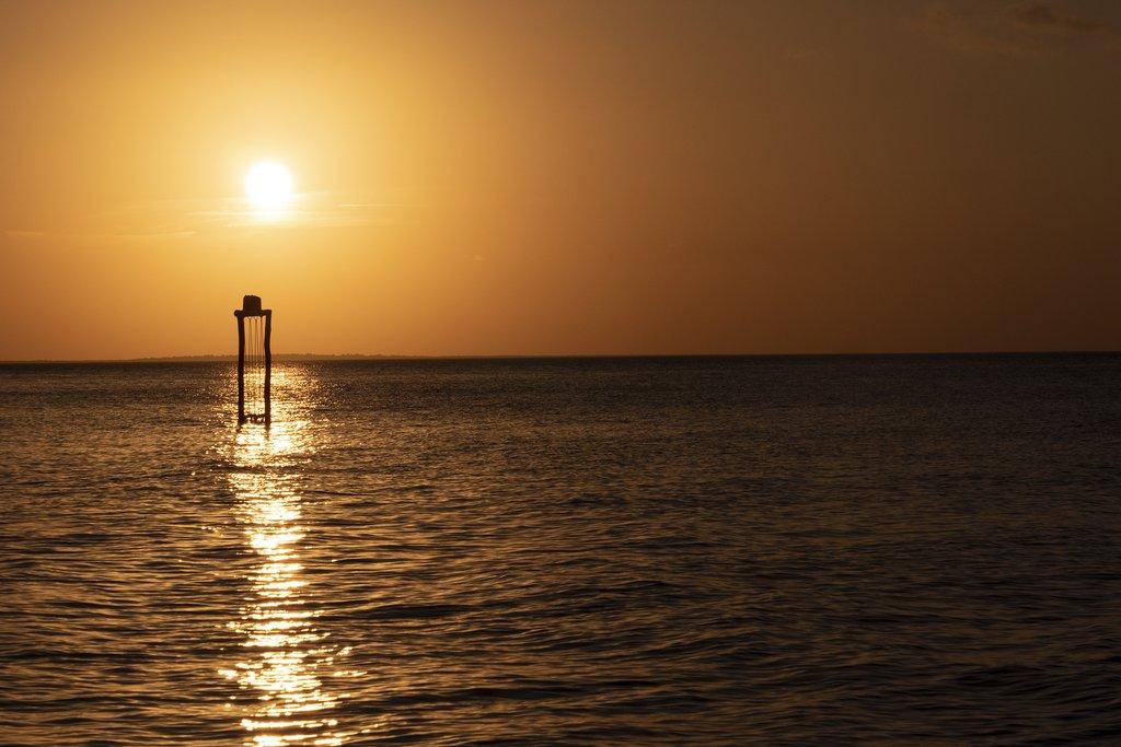 Sunset on Holbox Island