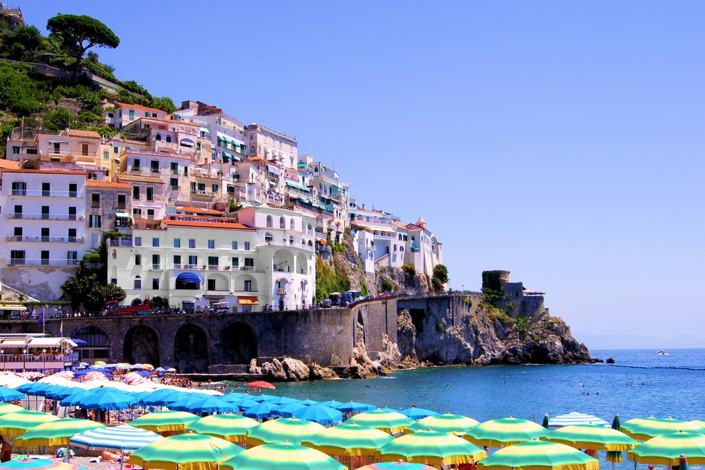 Beach in Amalfi