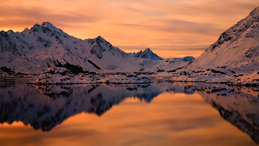 Spend a good portion of this trip exploring the Lofoten Islands.