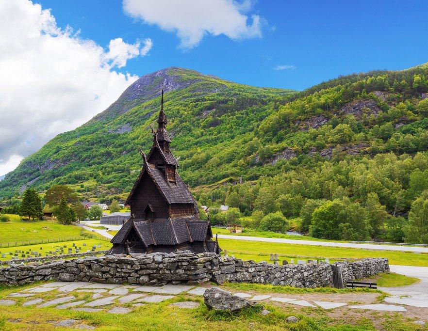 Borgund Stave Church, Borgund, Norway