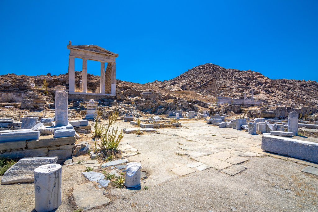 Ruins at Delos