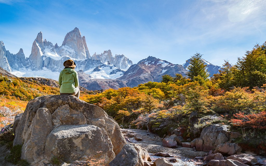 Get your fill of Mt. Fitz Roy while staying in El Chaltén