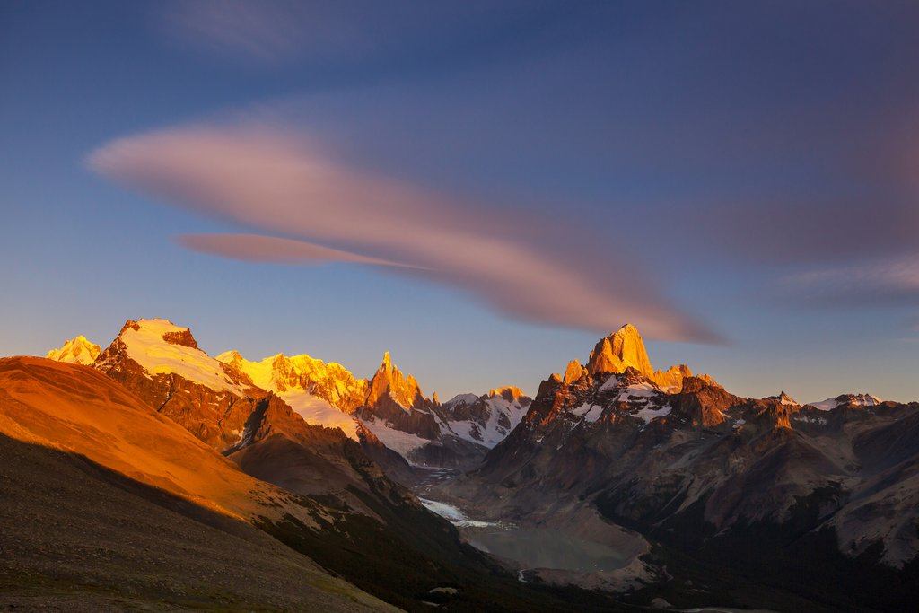 Mt. Fitz Roy, one of Patagonia
