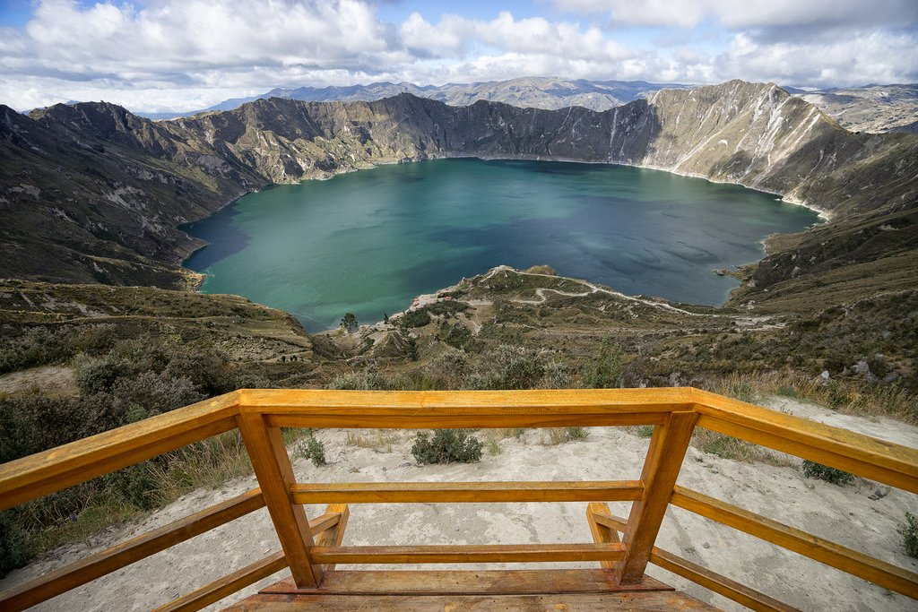 Trekking along the Quilotoa Loop is an Ecuador highlight.