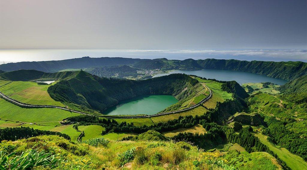 The emerald landscape of São Miguel Island