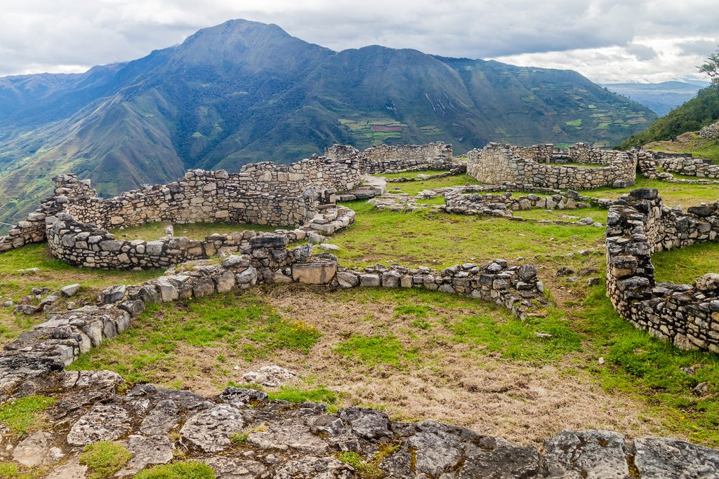 Citadel of Kuelap ruins
