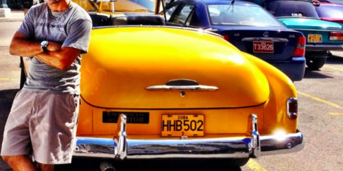 One of the many vintage cars Cuba is known for