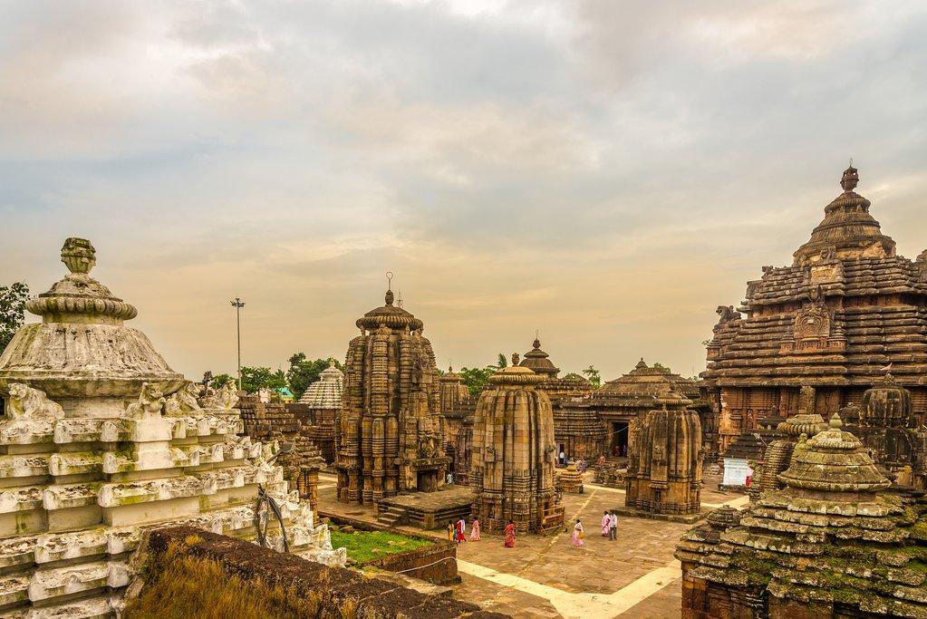 The Lingaraja Temple in Bhubaneswar