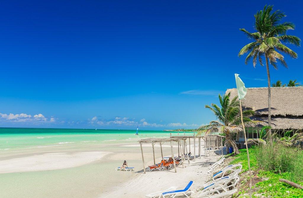 Beach on Cayo Coco