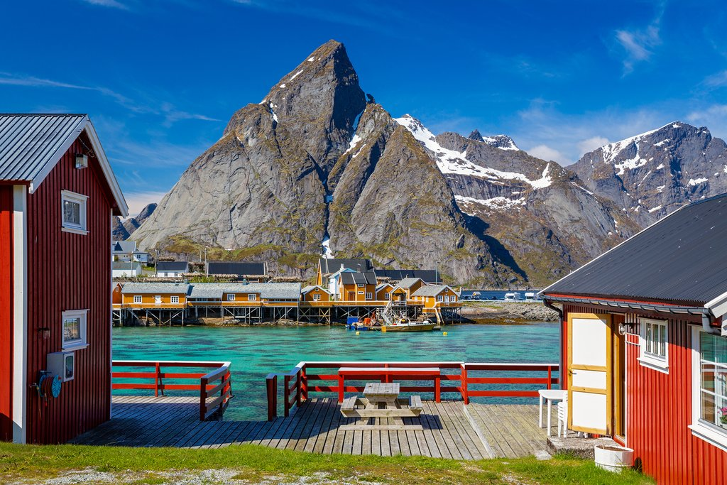 End the adventure with three nights in the Lofoten Islands