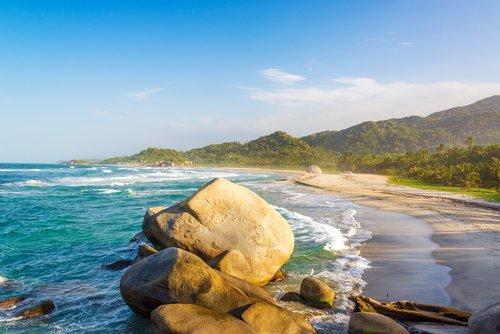Beach at Tayrona National Park