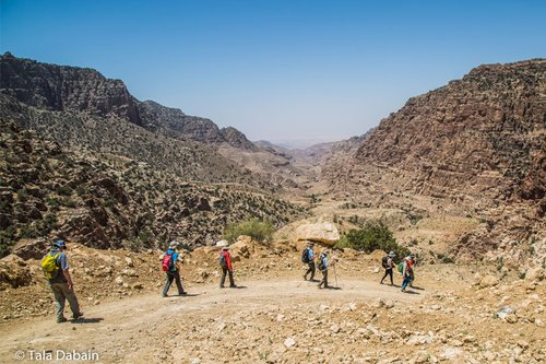 Dana Biosphere Reserve - Start of the Dana to Petra Trek