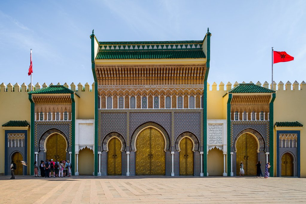 Royal Palace in Fez Morocco
