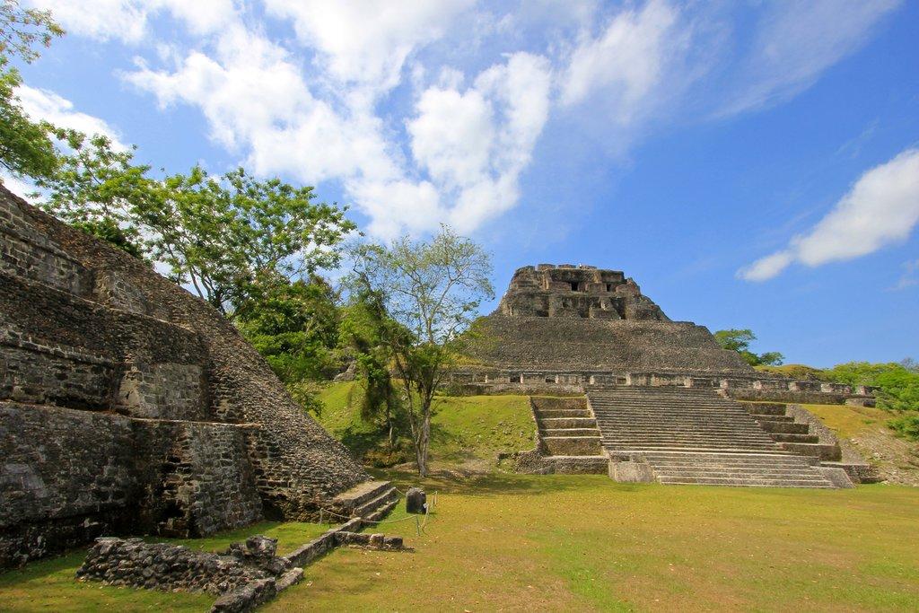 Mayan ruins in Xunantunich
