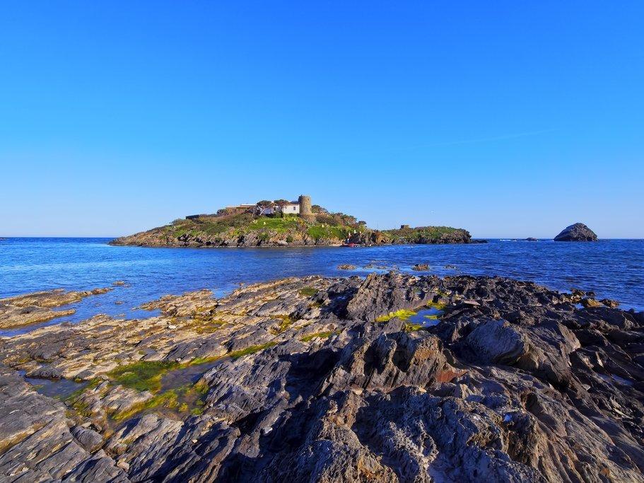 Costa Brava between Cadaques and Portlligat