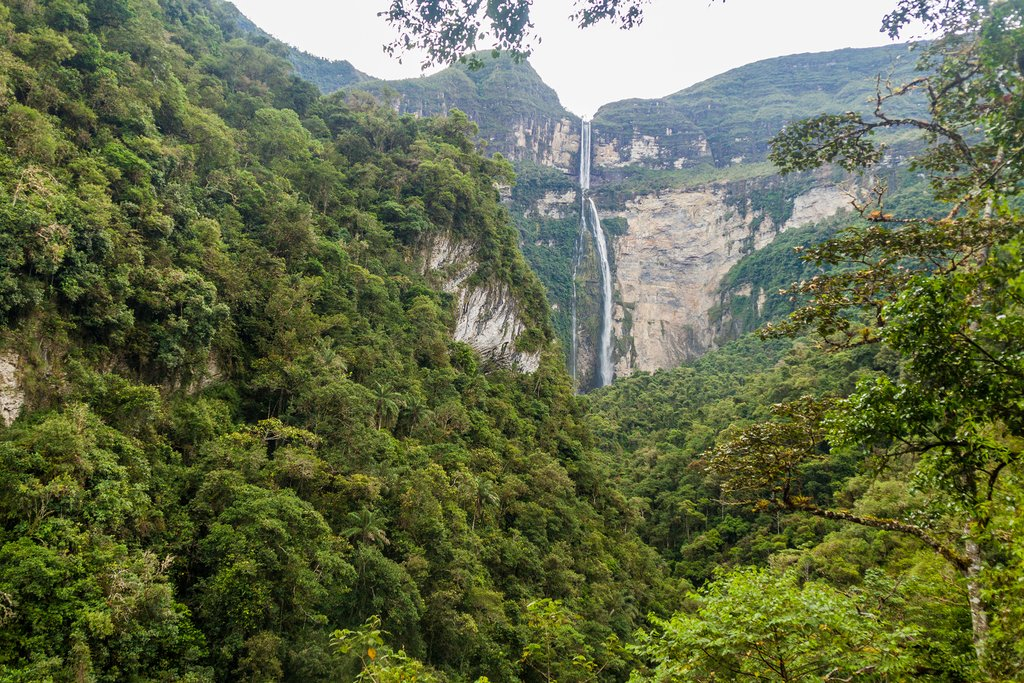 Gocta Waterfall in northern Peru