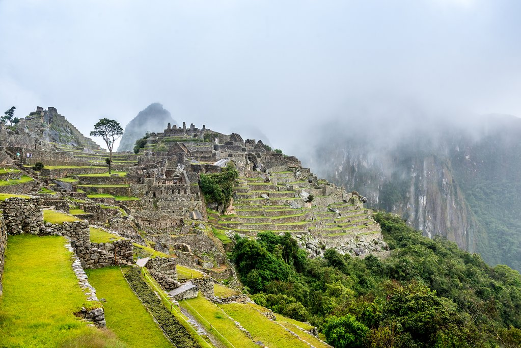 Machu Picchu in August