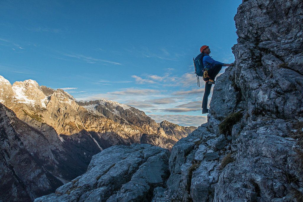 Adventure in the Slovenian Alps
