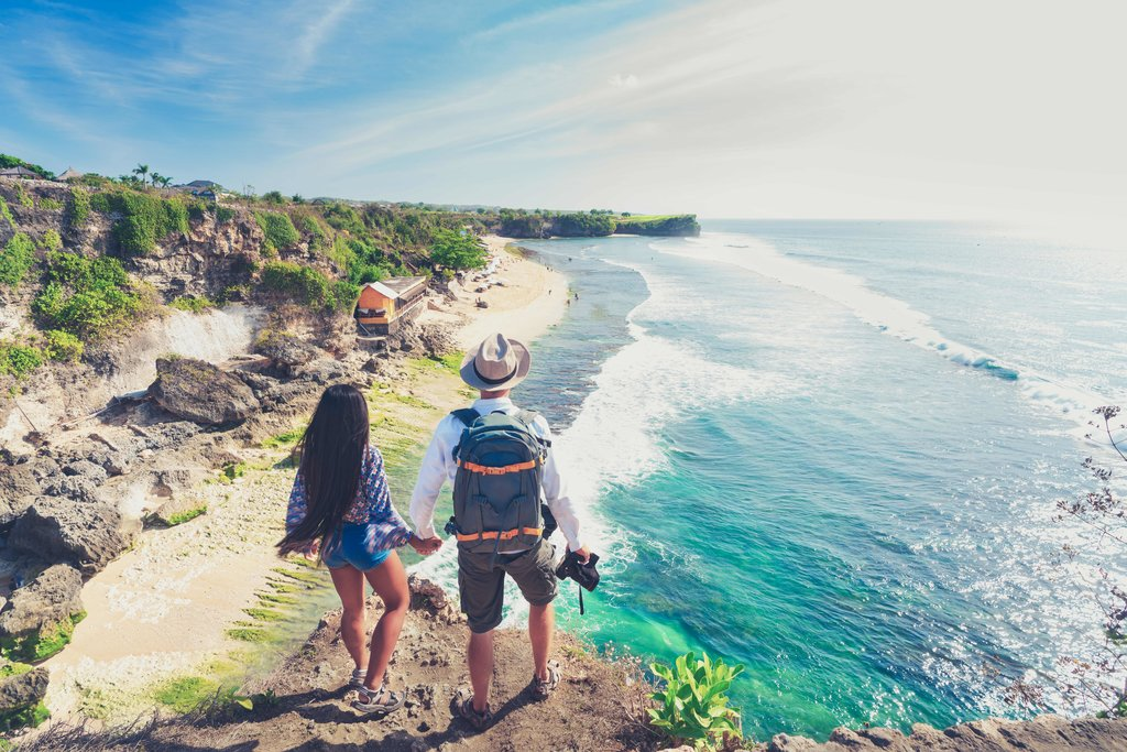 Explore the wild beaches of the Bukit Peninsula in southern Bali