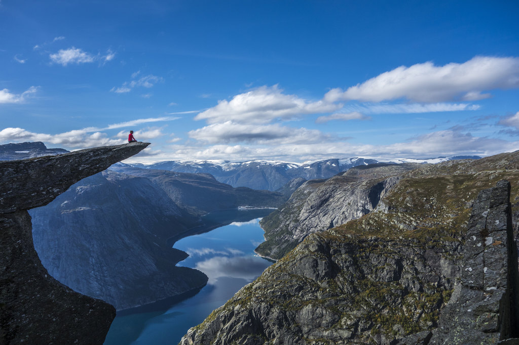 Memorable views from Trolltunga.