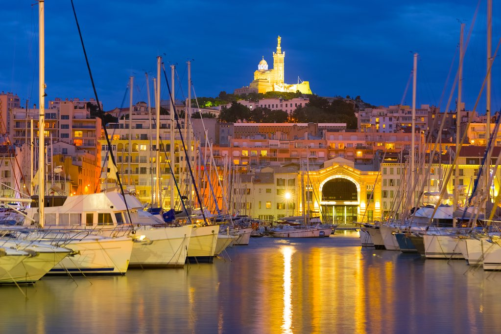 Marseille's romantic port draws boaters in summer months
