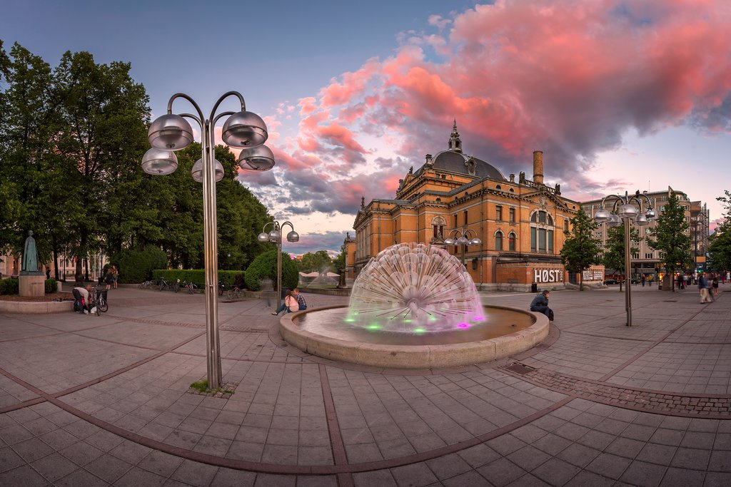 The National Theater in Oslo