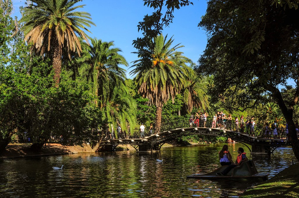 Springtime in Buenos Aires, Palermo Park Lake