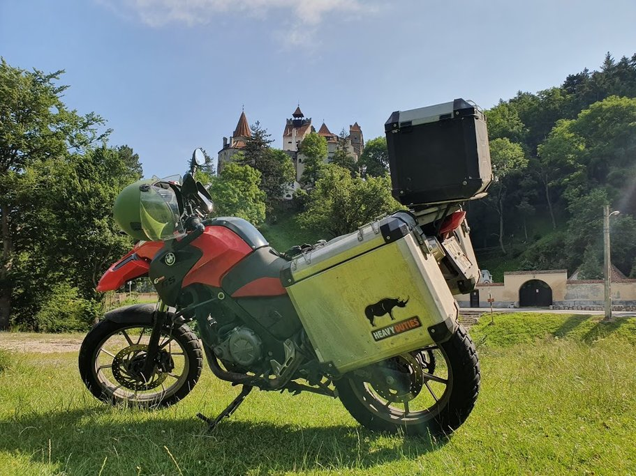 Take a thrilling trip across Romania on motorcycle.
