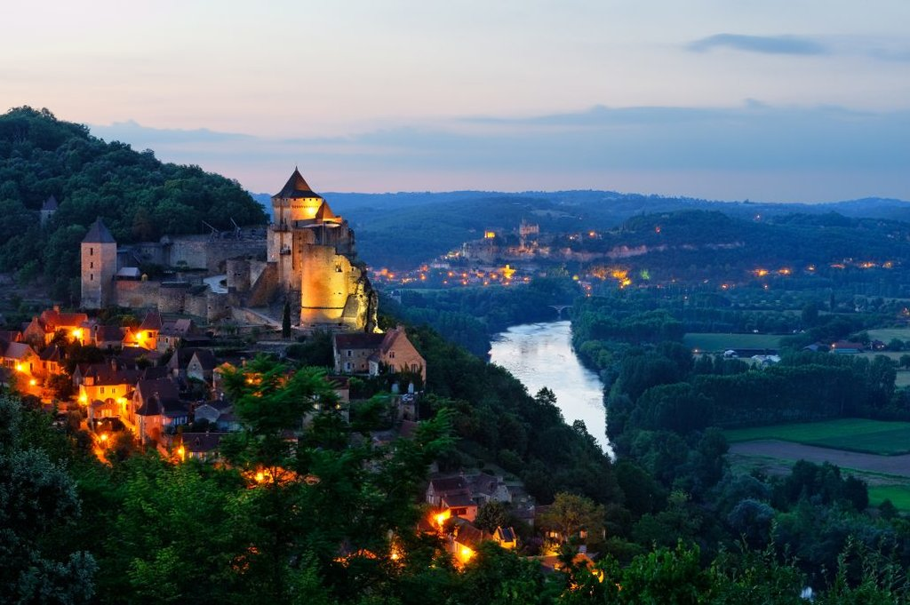 Dordogne perched village