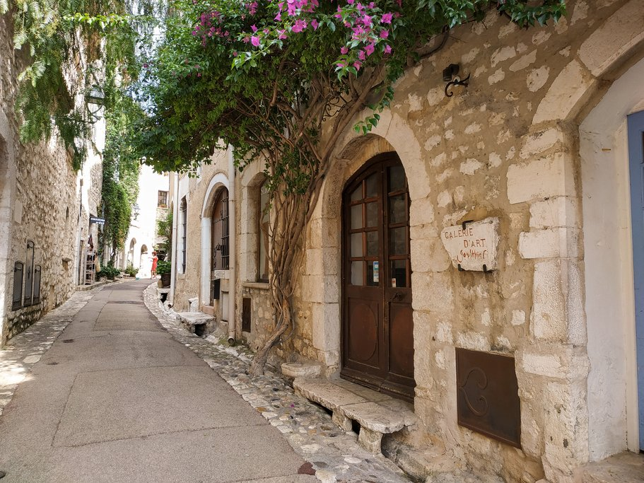 Streets of Saint Paul de Vence
