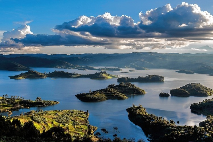 Beautiful Lake Bunyonyi