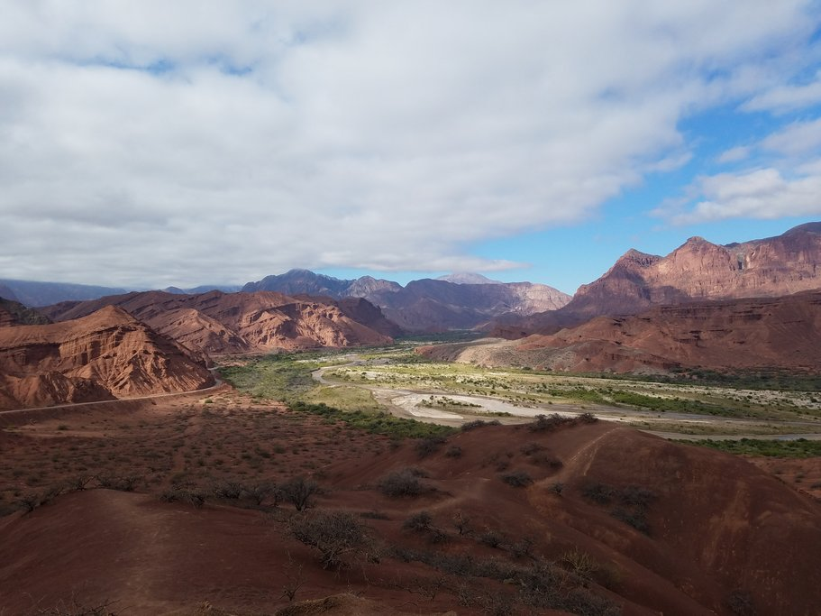 Salta to Cafayate in Northwest Argentina
