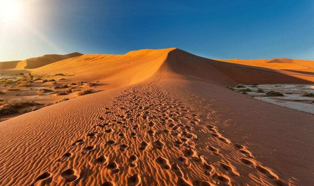 Desert adventures are plentiful in Namibia