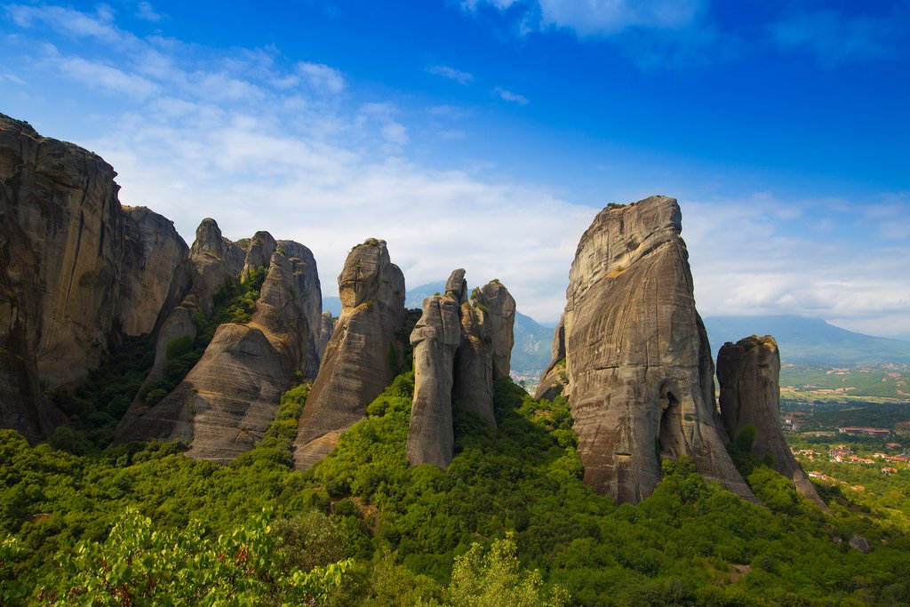 The curious landscape of Meteora