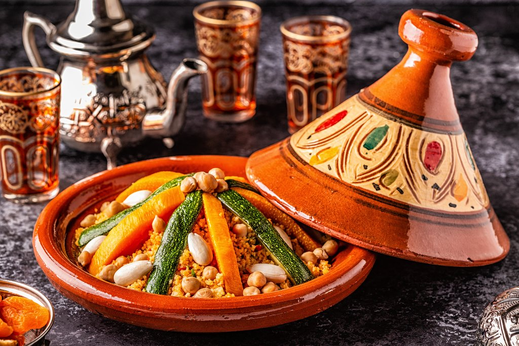 Delicious vegetable Tajine