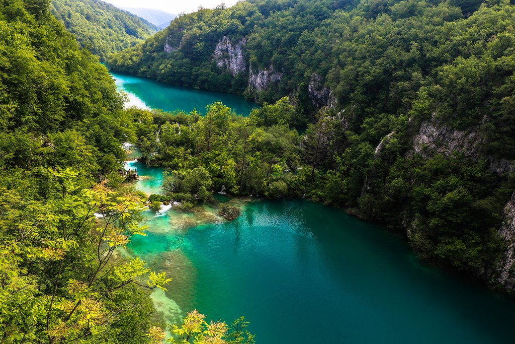 Plitvice Lakes National Park, just south of Zagreb